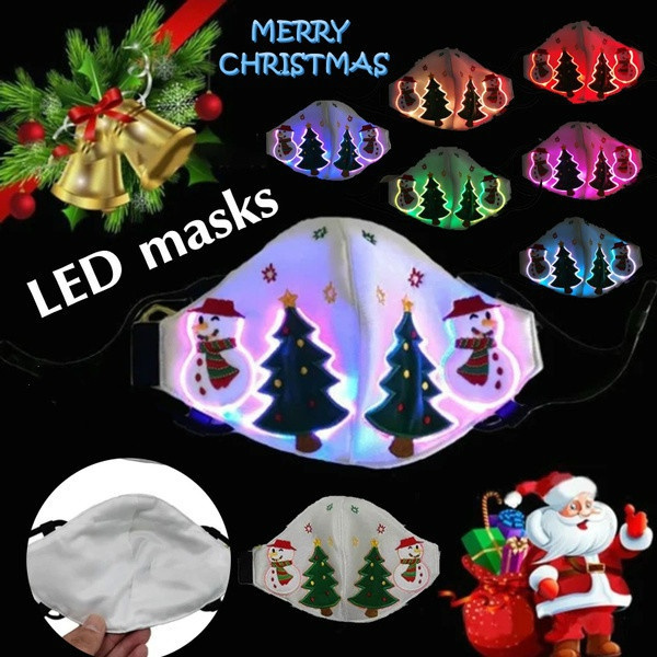 party, lights, led, partymask