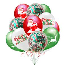 navidad, globo, Decor, Christmas