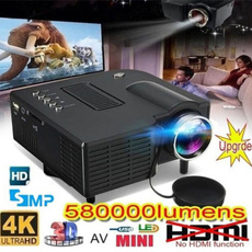 Mini, led, projector, Hdmi