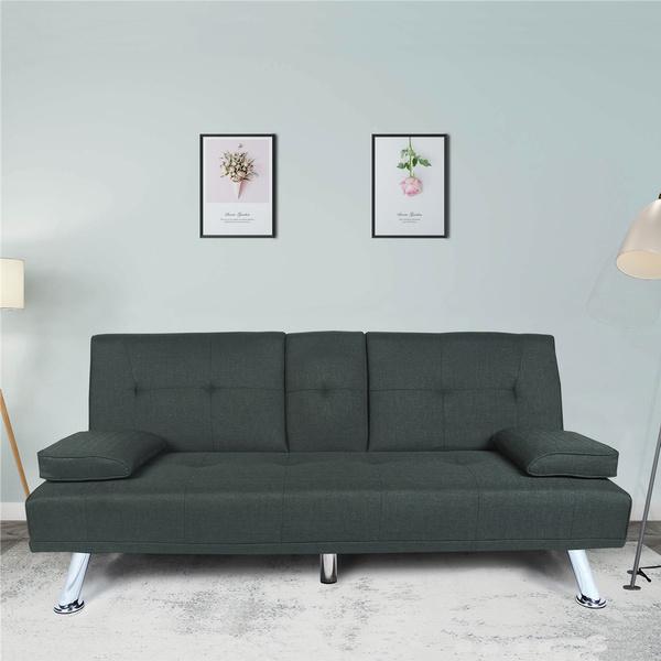 couch, foldablelazysofa, Home & Living, Sofas