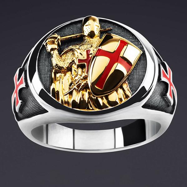 Sterling, christmasgiftring, crossringformen, shield