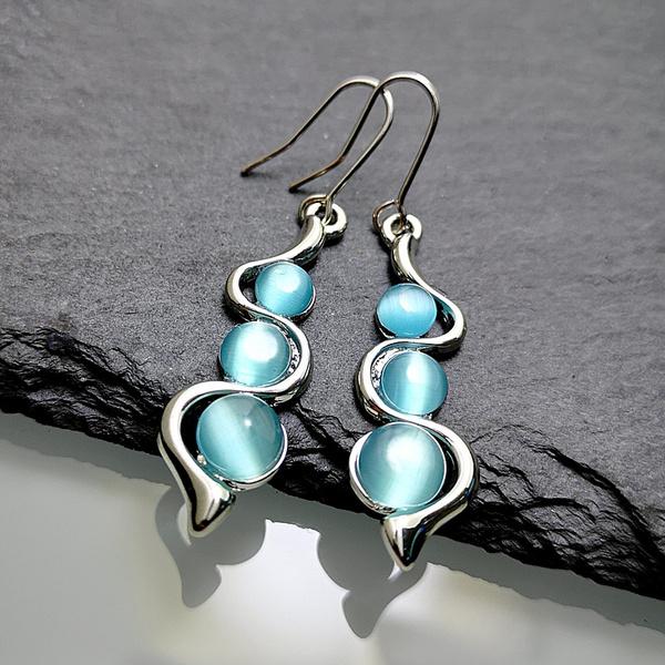 Blues, Dangle Earring, Jewelry, vintage earrings