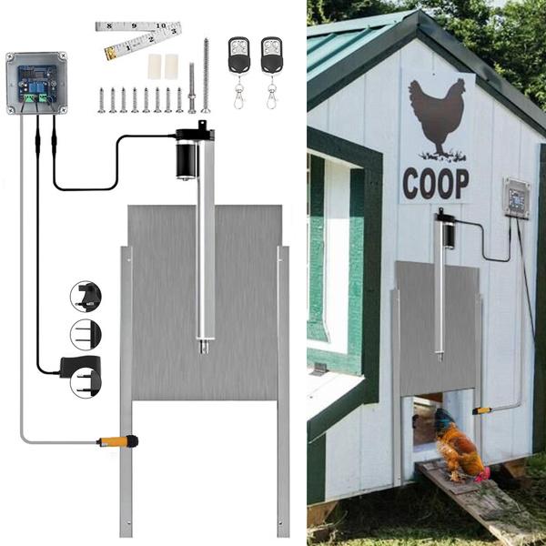 dooropeningkit, Door, farmaccessorie, chickenhouse