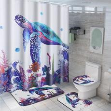 Turtle, Bathroom, bathroomdecor, toiletmat