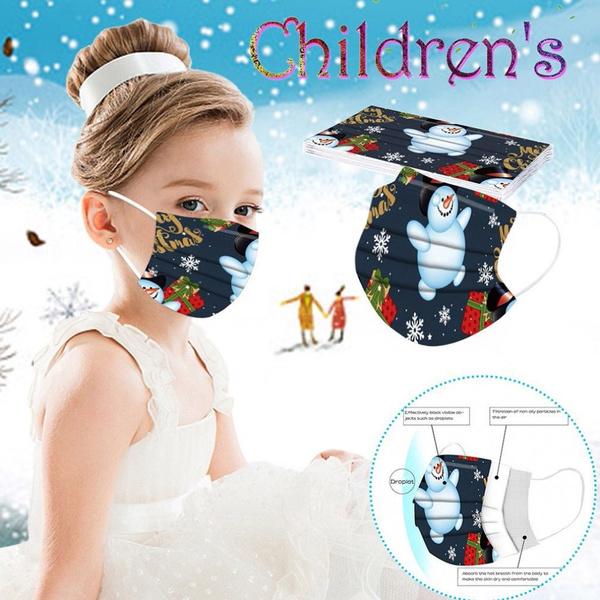 Outdoor, childrenmask, surgicalmask, christmasmask