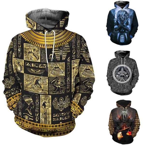hoodiesformen, eye, Egyptian, 3dprinted
