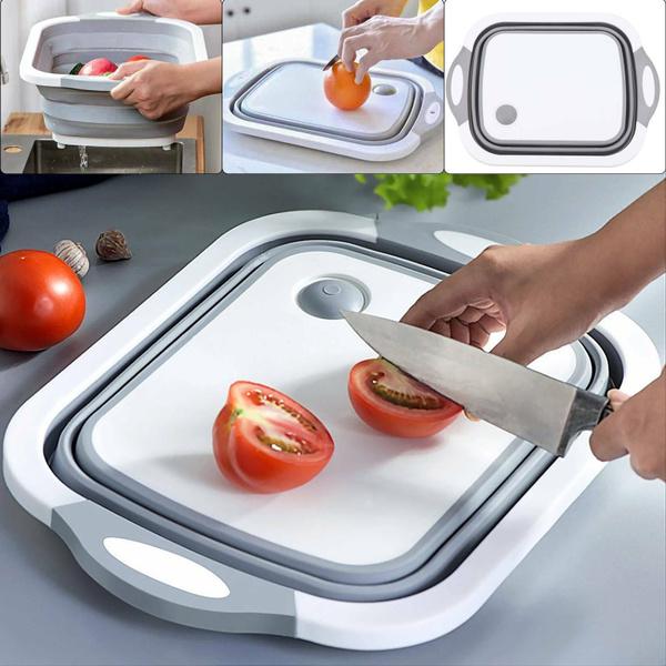 Kitchen & Dining, foldingdrainbasket, drainingvegetablebasket, Kitchen Accessories