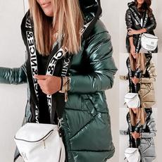 Jacket, Fashion, Winter, letter print