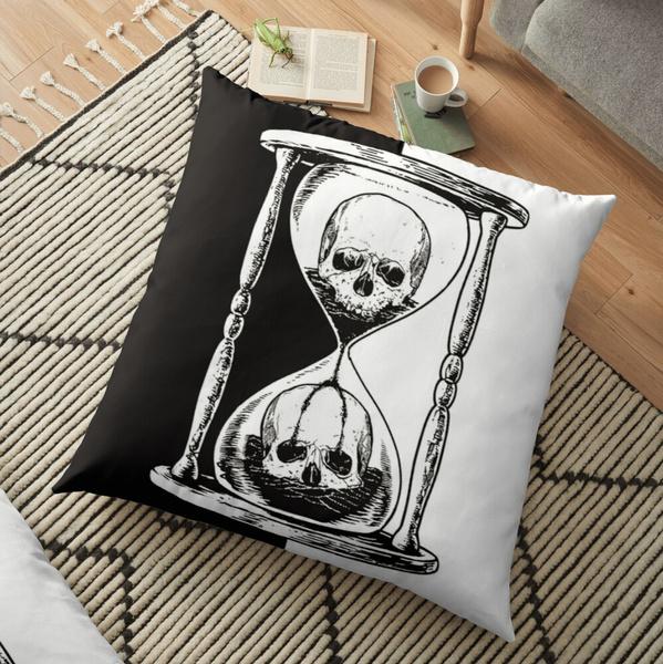 case, pillowcasehomebedding, backcushion, skull