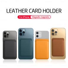 IPhone Accessories, magneticcardholder, iphone, leather