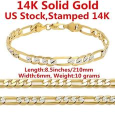 yellow gold, Chain, chianbracelet, Pulsera