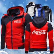 Slim Fit, Winter, Sweatshirts, winter coat