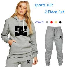 hooded, Fashion, bluzydamskie, pants