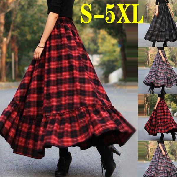 long skirt, ladyskirt, Dress, springdre