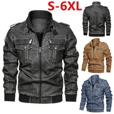 motorcyclecoat, Plus Size, Coat, Winter