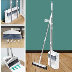 broomanddustpanset, householdbroom, foldabledustpan, foldingbroom