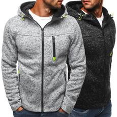 hoodiesformen, Fleece, hooded, Tops & Blouses