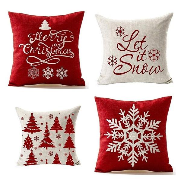 case, Throw Pillow case, Christmas, Office