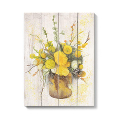 paintingcanvaspack, paintingscanvaswallart, Home Decor, daisy