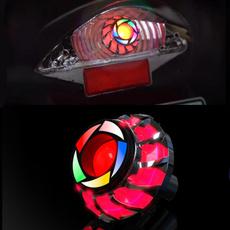 motorcyclebrakelight, motorcyclelight, eye, Colorful