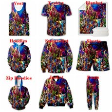 Blankets & Throws, Vest, Fashion, 3D hoodies