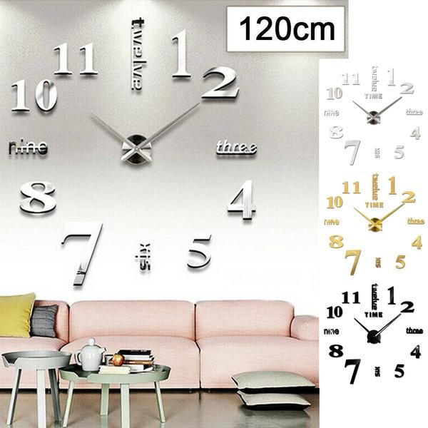 Decor, Office, 3dwallclock, Clock