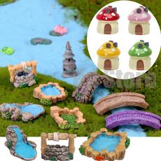 Craft, minigardentower, mushroomhouse, resinterrarium
