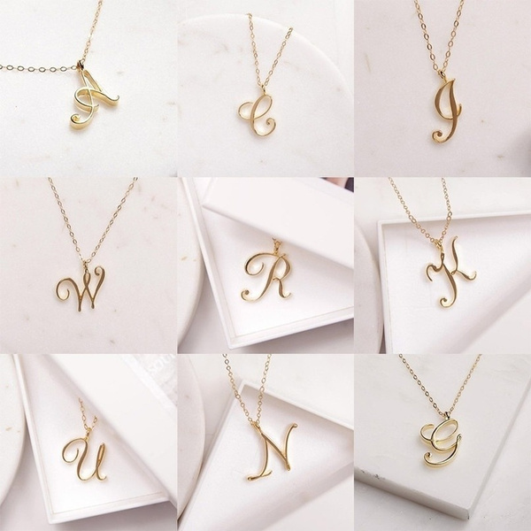 Chain Necklace, Love, Jewelry, gold