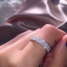 Sterling, Fashion, Infinity, 925 silver rings