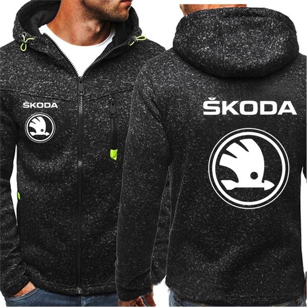 hoodyjacket, cardigan, men clothing, skoda