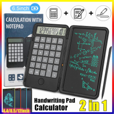 Rechargeable, Tablets, notepad, calculator