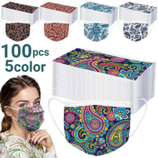 3layer, unisex, printedmask, Face Mask