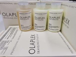 unisex, Shampoo, haircream, olaplex