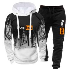 winter fashion, Fashion, pullover hoodie, printed