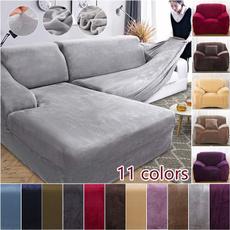 loveseat, velvet, couchcover, Elastic