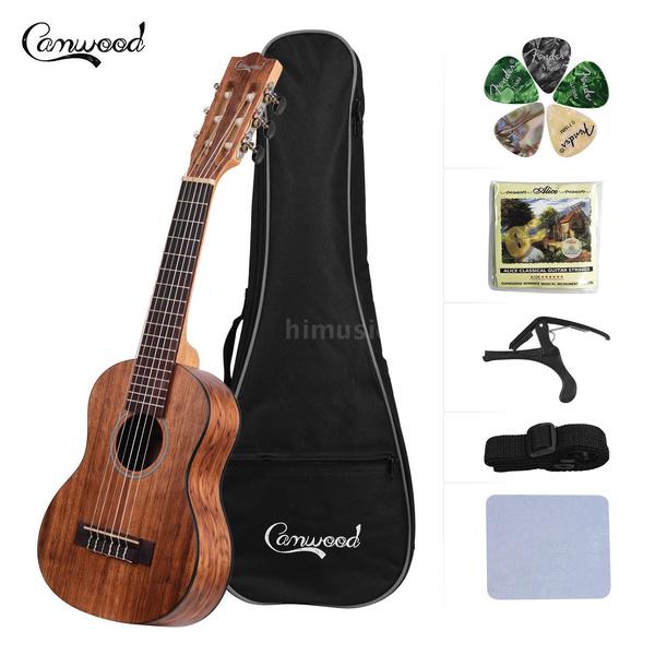 sapeleukulele, acousticukulele, fretukulele, Musical Instruments