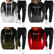 Two-Piece Suits, pullover hoodie, Sleeve, pants