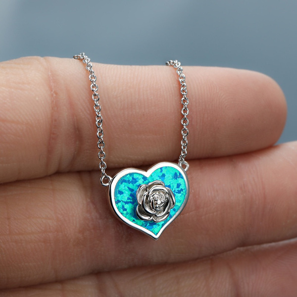 Heart, gold, cute, sterling silver