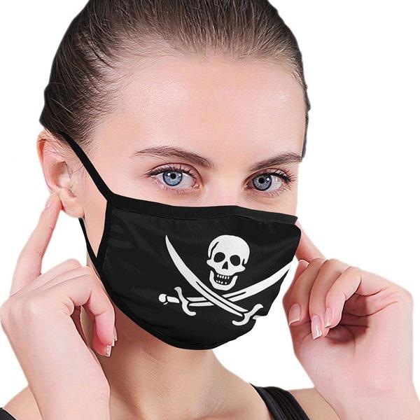 earloopmask, Polyester, blackmask, safetymask