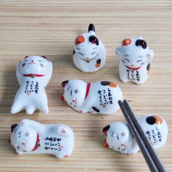 cute, Ceramic, ceramicholderforchopstick, Rack