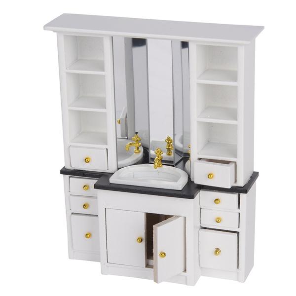 Mini, miniaturebathroombasin, Dollhouse, Kitchen & Dining