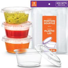 Mini, smallplasticcontainer, shotcup, smallplasticcondimentcontainer