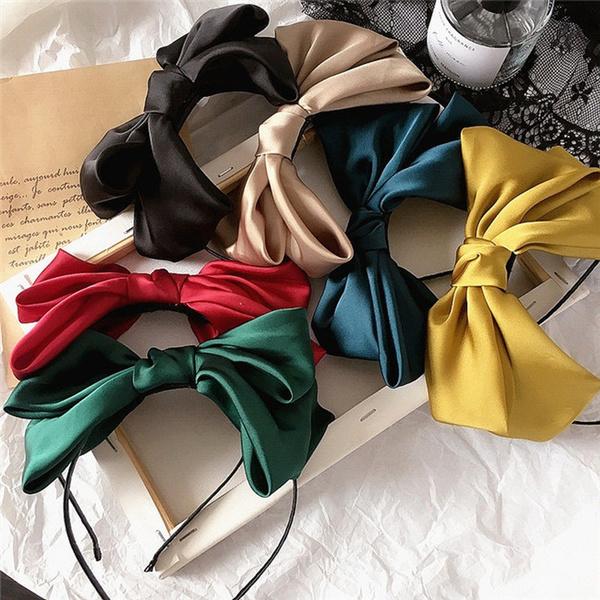 bowknot, Fashion, Vintage, headbandsforwomen