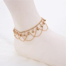 Charm, Tassels, Sandals, Anklets