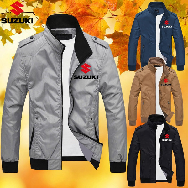 flightjacket, suzukijacket, collar slim, Fashion