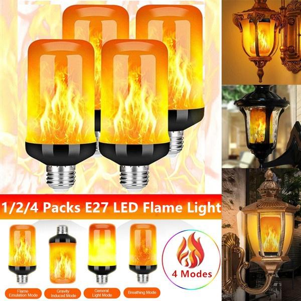 Light Bulb, firelight, led, Christmas
