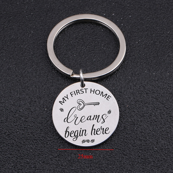 realtor, housewarming, firsthome, Key Chain