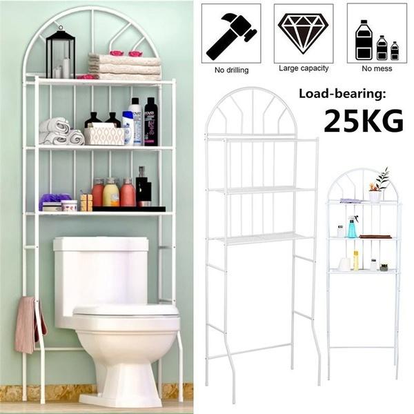Bathroom, toiletstoragerack, Shelf, toiletshelf