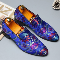 Shoes, embroideryshoe, leather shoes, leather