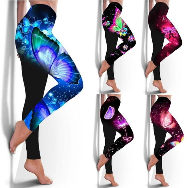 butterfly, Women, butterflyprintlegging, Fashion